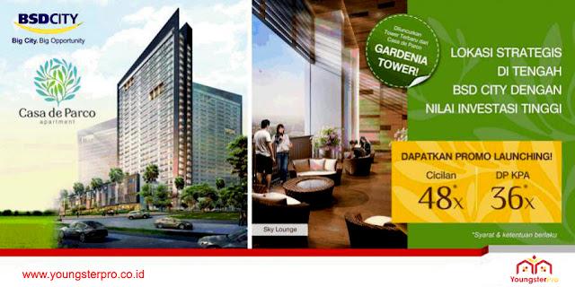 8 Apartemen Dijual Baru Terbaik di BSD City Alam Sutera