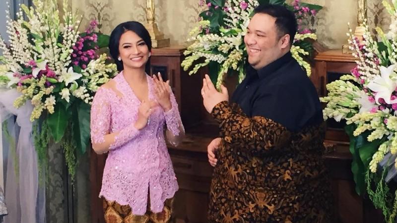 Pertunangan Vanessa Angel dan Didi Mahardhika