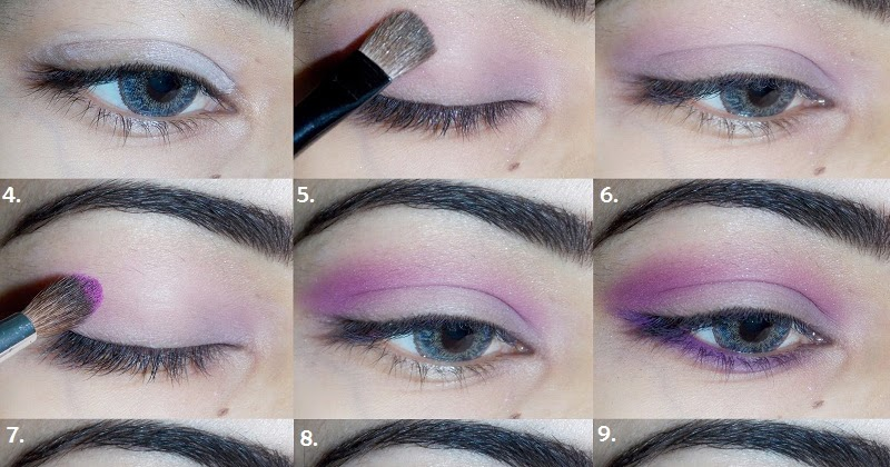 Soft Pink Smokey Step By Step Eye Makeup Tutorial Indian