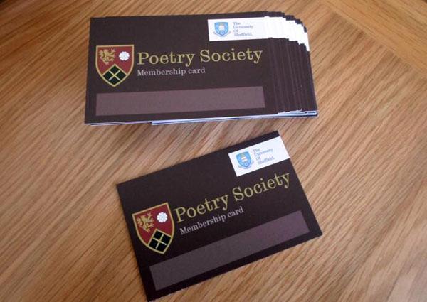 Gotprint Dark University Business Card Or Membership On Tabletop
