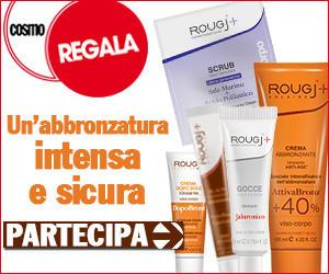 Logo Rougj e Cosmopolitan: nuovo concorso e nuove tentazioni