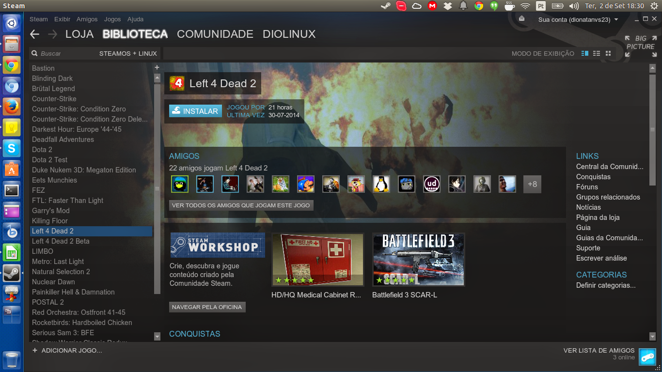 Steam do Diolinux