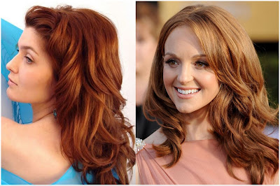 Hair Color Light Auburn - List of Blond and Brown Hair Color for All Skin Types