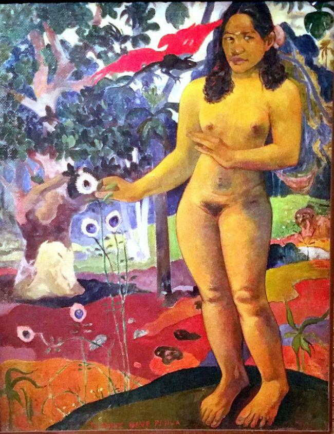 Te Nave Nave Fenua - Paul Gauguin