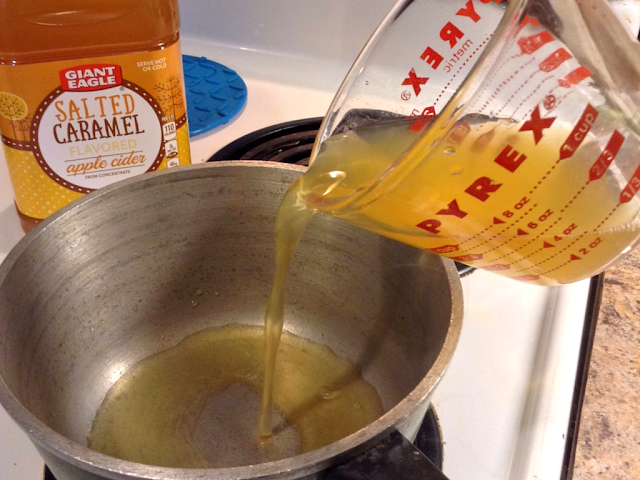 Salted Caramel Cider Featuring #FlavorsOfFall from @GiantEagle