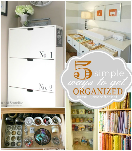 simple ways organized linky party features kitchen organization ideas thethavenue simple ways