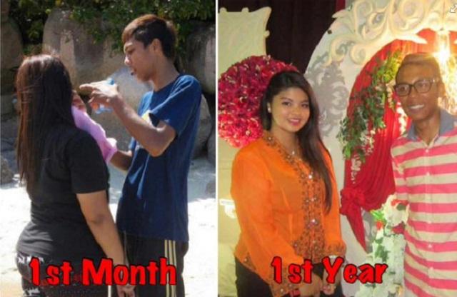 Lelaki Ini Terima Perempuan Gemuk Ini, Lihat 4 Tahun Selepas Itu...