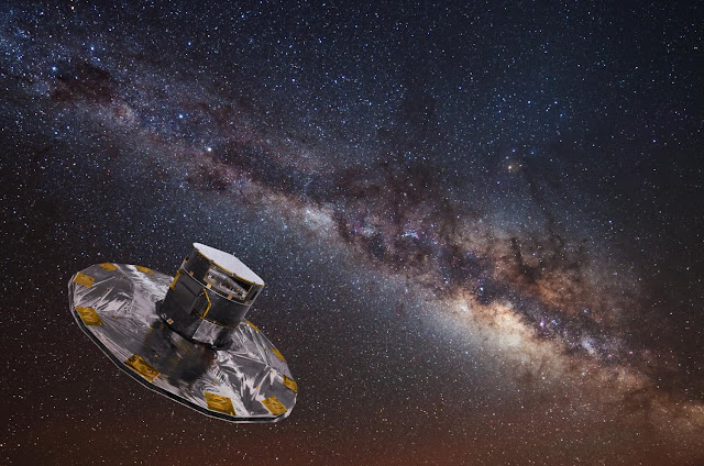 Gaia's billion star maps hints at treasures to come