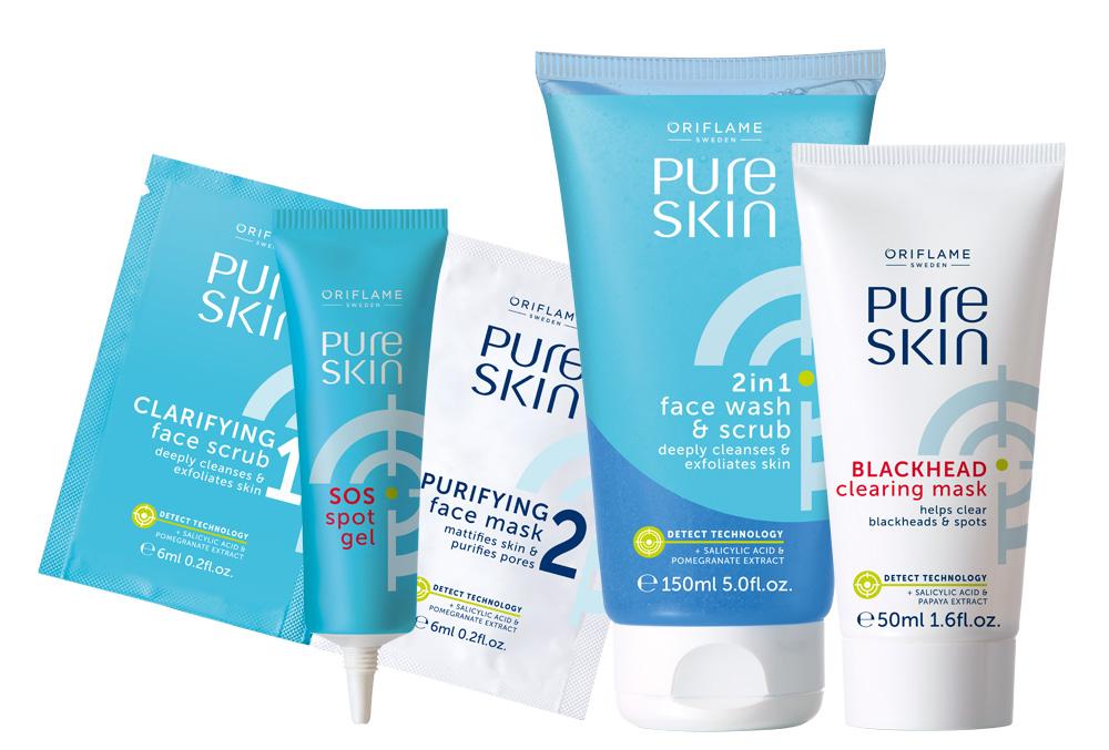 Pure Skin da Oriflame - Cuidado Semanal