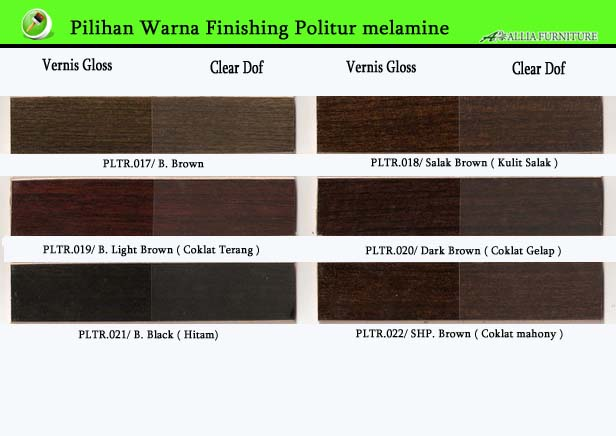 Warna Finishing Furniture Politur Melamine 3