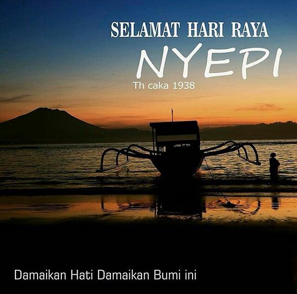 Foto BBM Selamat Hari Raya Nyepi