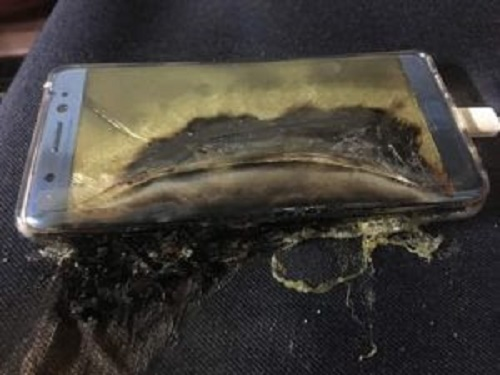 How Samsung Note 7 Reportedly Explodes On Face Of Nigerian Man In China (All Graphic Photo With Full Details)
