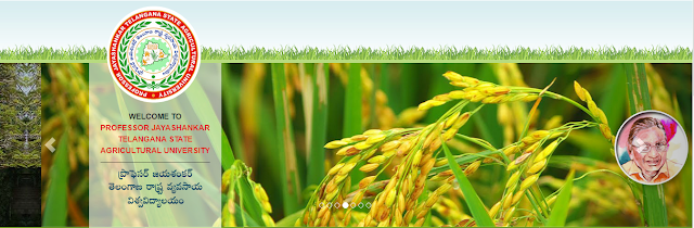TS AGRIENGGCET 2016 Admissions at www.pjtsau.ac.in