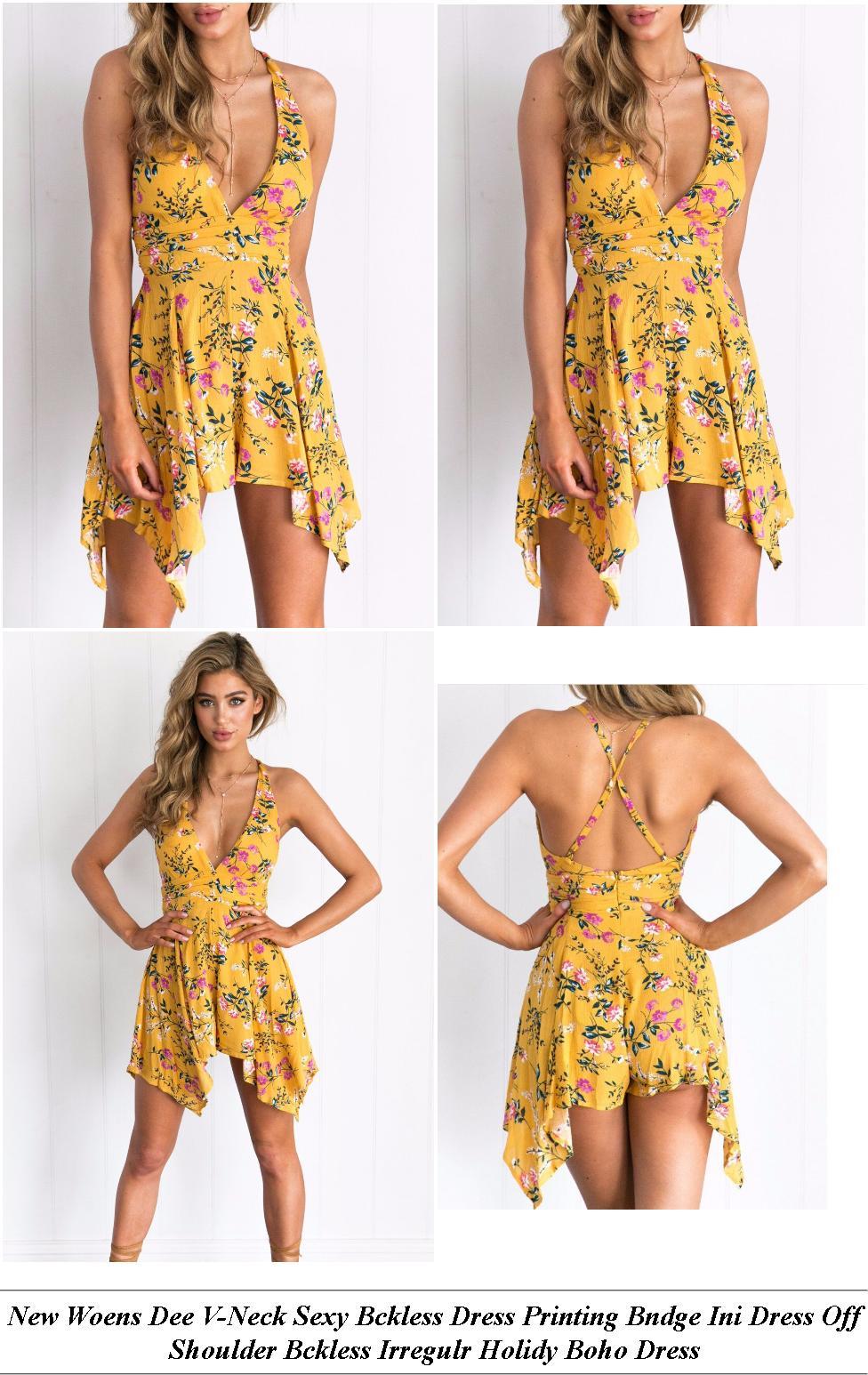 Mint Green Orange Dress - Ody Shop Summer Sale - Sparkly Short Dresses Uk