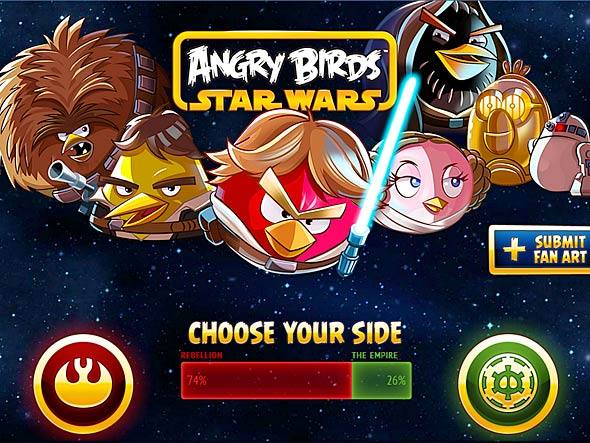 Novo Trailer De Angry Birds: Angry Birds: Novo Trailer Do Jogo Angry Birds Star Wars
