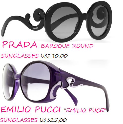 fa55b97a6 Destaram??? Acham que é coisa de maluco do mundo da moda??? Para aquelas  que colecionam óculos de sol, tenho certeza que já vai para a WHISH LIST,  né!!!