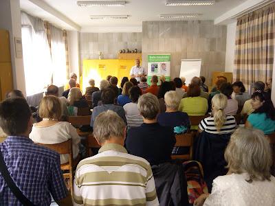 Prednáška v Prahe