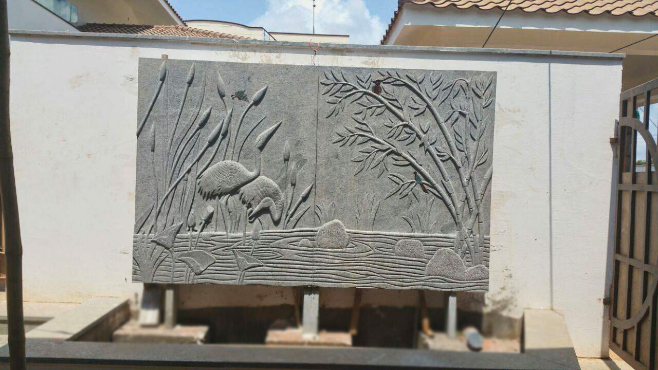 Home Design N Style Elevation : Stone carving designs for interior and landscapes kerala