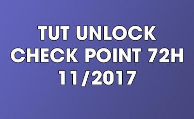 TUT UNLOCK CHECK POINT 72H (11/2017)