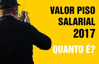 Piso salarial vigilante no Brasil