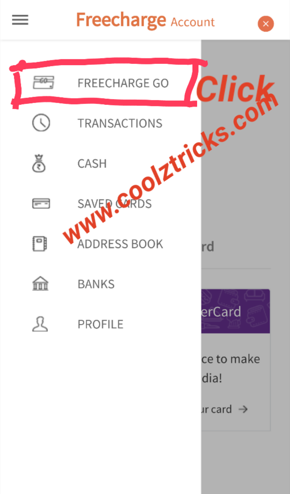 LOOT*] FREECHARGE APP TRICK-REFER AND EARN UNLIMITED TO BANK-APR'16