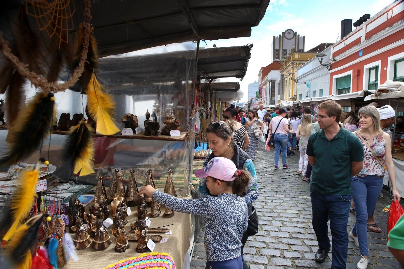 Curitiba tem mais de 100 feiras para comunidade e turistas