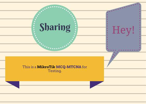 Dump MTCNA OUYY pdf - Free Download PDF
