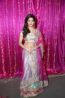 Ritika Sing in Golden Pink Choli Ghagra Cute Actress Ritika Sing ~  013.JPG