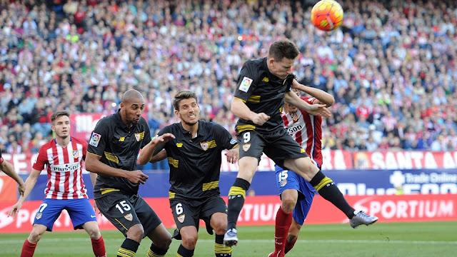 Atletico Madrid Dikalahkan Sevilla Skore 2-1
