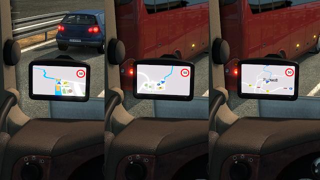 ets 2 google maps navigation for promods v1.9 screenshots 2