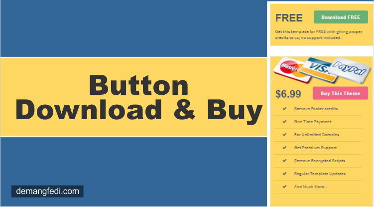 Download and Buy Buttons On The Blog Sidebar