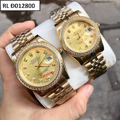 Đồng hồ cặp đôi Rolex Đ012800
