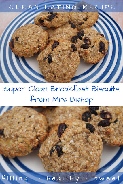 Super Clean Breakfast Biscuits Recipe from Mrs Bishop