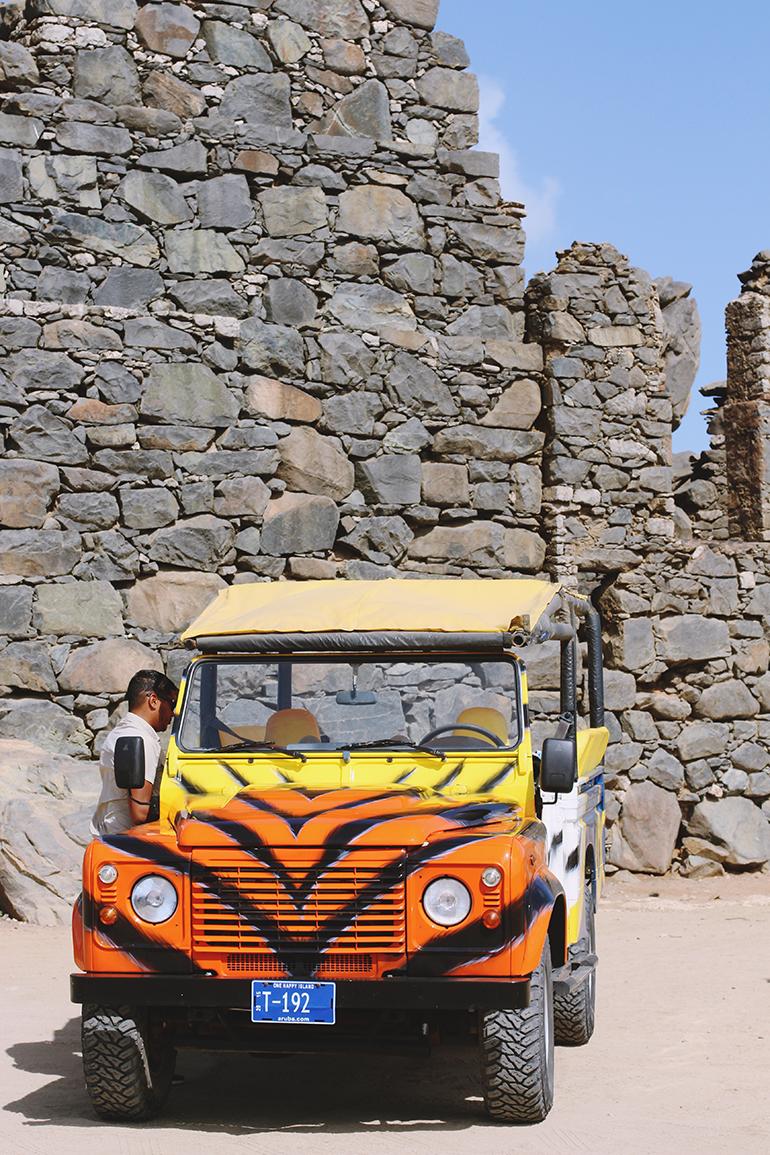 Aruba ABC Tours Jeep Safari