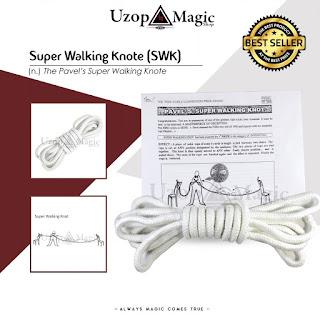 Jual alat sulap super walking knot - Sulap Tali
