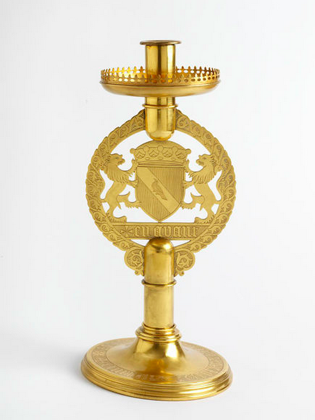 #12 Gothic Revival Candlestick