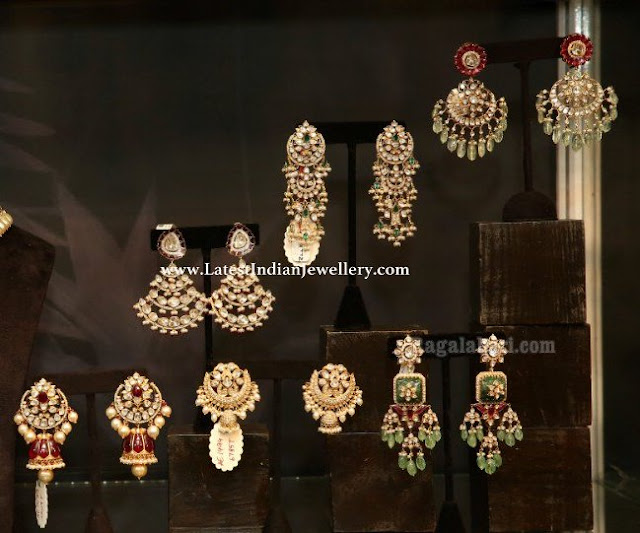 Fancy Jadau Earrings