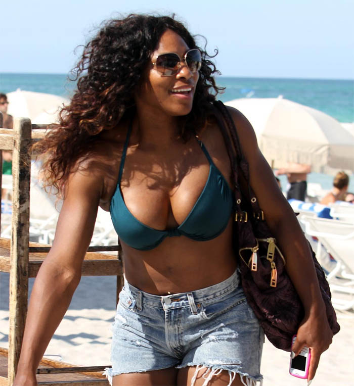 The Sport Babes Serena Williams Mega Boobs-9935