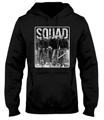 Squad Jason Michael Horror Squad T Shirt Hoodie Halloween 2018 Sweatshirt Tank Top