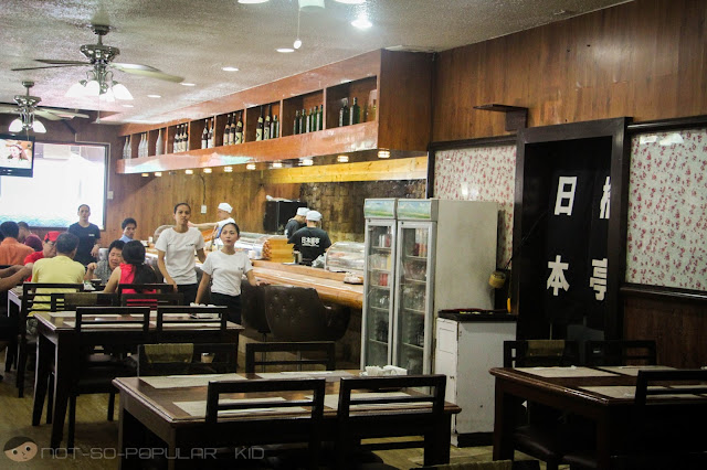 A Closer Look: Nihonbashi Tei in Makati