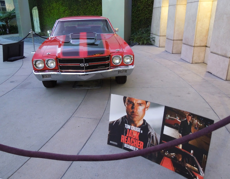 1970 Chevrolet Chevelle SS Jack Reacher movie car