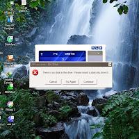 Cara mengatasi UIExec.exe No Disk pada modem Zte