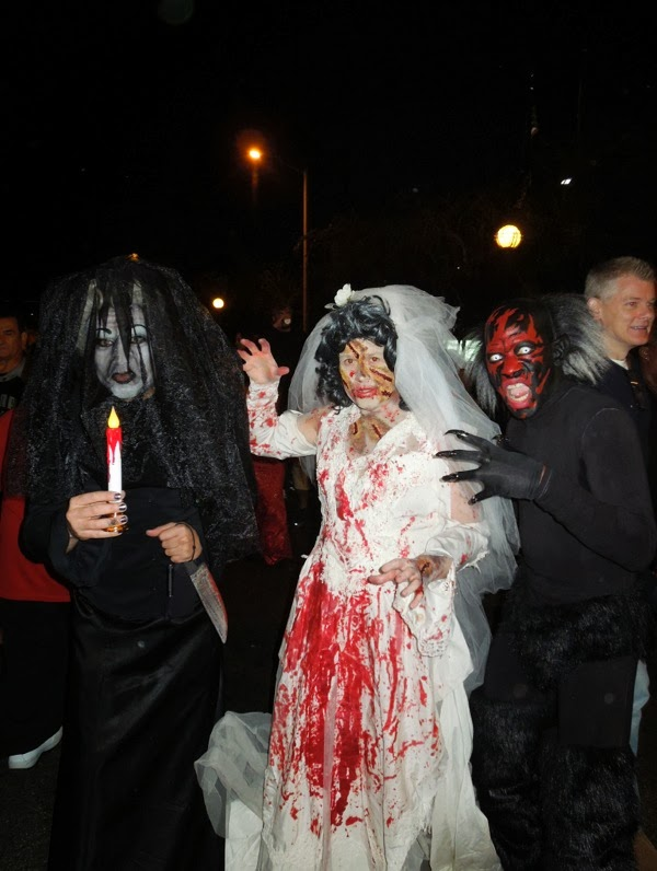 Insidious Black Bride Zombie Bride costumes West Hollywood Halloween