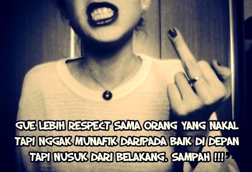 Gambar Foto DP BBM Sindiran Benci pada Seseorang
