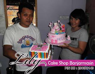 Lily Cake Shop Banjarmasin Pelanggan Kalangan Perbankan Bank