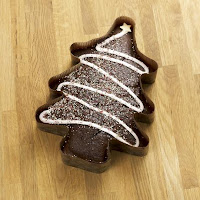 torta albero di Natale cioccolato