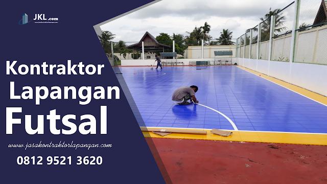 Jasa Kontraktor Lapangan Futsal di Cilegon