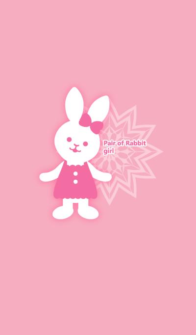 Pair of Rabbit -girl-