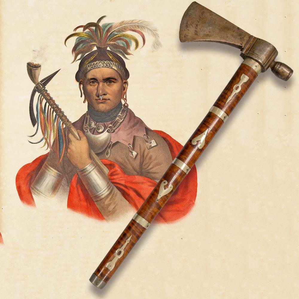 White Wolf : Stolen 18th-century Native American tomahawk ...