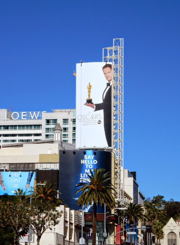 2015 Oscars billboard